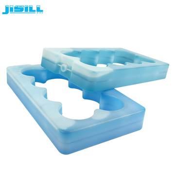 reusable hard plastic cold plate beer bottle cooler