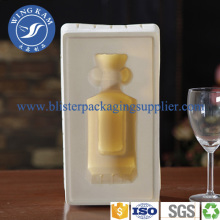 Elegant Drinking  Flocking Blister Packaging Container