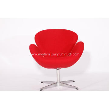 Good Quality for Fabric Wooden Lounge Chairs Designer Cashmere Swan Chair by Arne Jacobsen supply to Germany Exporter