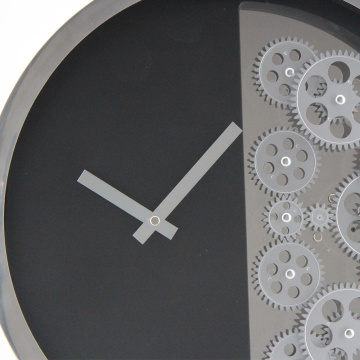 16 Inches Gear Clock Divided Into 2 Parts