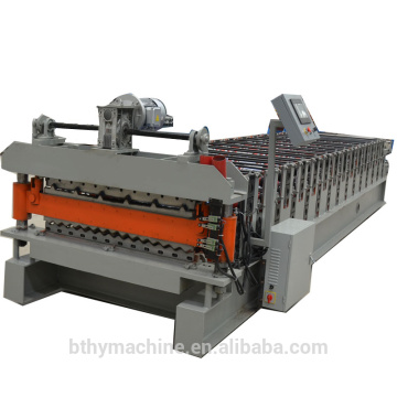 Double Layer Corrugated IBR Roof Sheet Making machine