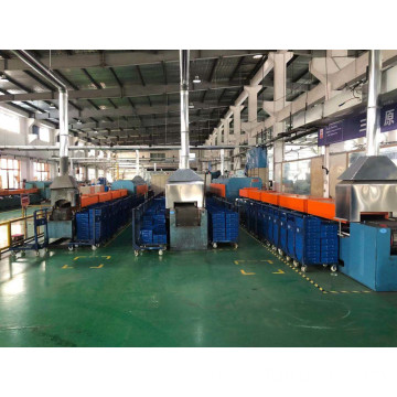 20-90KW Mesh belt tempering furnace