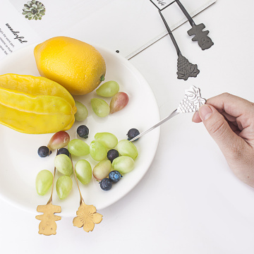 Wholesale Reverse Design Fruit Fork