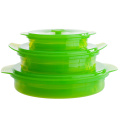 New Products Silicone Folding Lunch Food Box