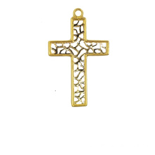 High Quality for K Gold Pendant,Fox Charm K Gold Pendant,Yellow Gold Pendant Manufacturer in China The Cross Pendant 18 K supply to Cook Islands Suppliers