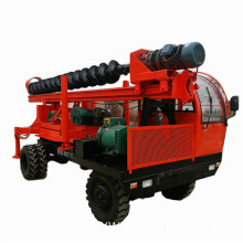 Holiday sales for Screw Pile Driver 6M truck mounted rotary pile driver machine export to Lesotho Suppliers