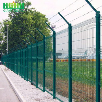 Electric galvanized airport security wire mesh fences