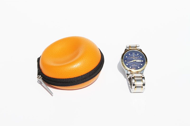 Single watch travel case