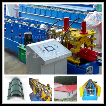 Cold Roll Forming Machine for Ridge Cap