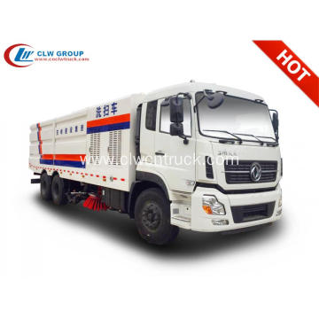 Guaranteed 100% Dongfeng 22cbm big road sweeper truck