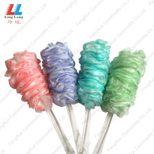 China Exporter for Mesh Bath Brush smooth shower brush sponge for body bath benefits export to United States Manufacturer