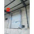High Speed Insulated Spiral Door