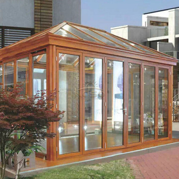 Thermal Aluminum Winter Garden House Tempered Glass Sunroom