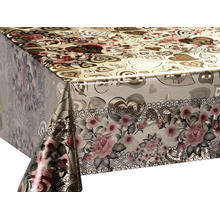 Best quality and factory for Double Face Coating Tablecloth Double Face Emboss printed Gold Silver Tablecloth Rental supply to Armenia Manufacturers