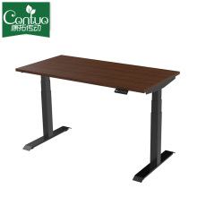 Custom Ergonomic Electric Sit And Standing Desk Raising Office Table