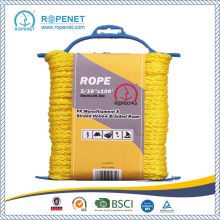 China New Product for PP Hollow Braid Rope 8 Strands Braid Skiing PE Rope supply to United Kingdom Factory