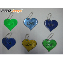 OEM Love Reflective Pendant For Valentine Gift