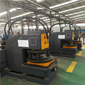 Hydraulic angles steel cutting machine