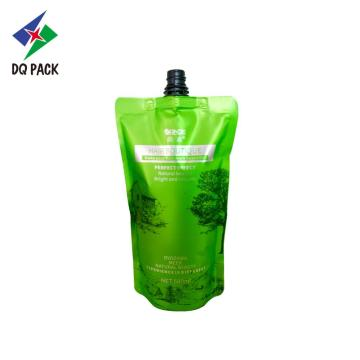 Shampoo spout pouch Chemical bag with spout
