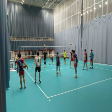 High Efficiency Factory for Volleyball Sports Flooring Enlio PVC Volleyball Court Floor supply to Netherlands Factories