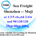 Shenzhen International Shipping Agent to Moji