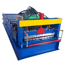 Best Price for Steel Single Layer Roof Roll Forming Machine Machine Make Corrugated Sheet Steel export to Spain Exporter
