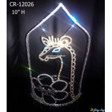 2018 Animals Rhinestone Crown Tiara