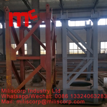 China Exporter for Tower Crane Mast Section Tower crane spare parts export to Congo Supplier