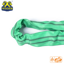 High Quality for Nylon Webbing Slings 2 Ton High Quality Polyester Lifting Round Webbing Sling export to Montenegro Importers