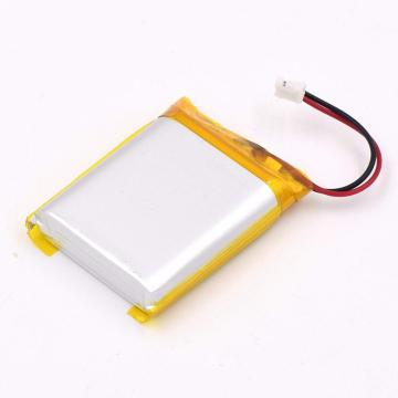 Rechargeable polymer battery 2300mah lipo battery 104050