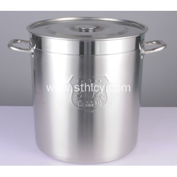 Round Ear Quality Stainless Steel Soup Bucket