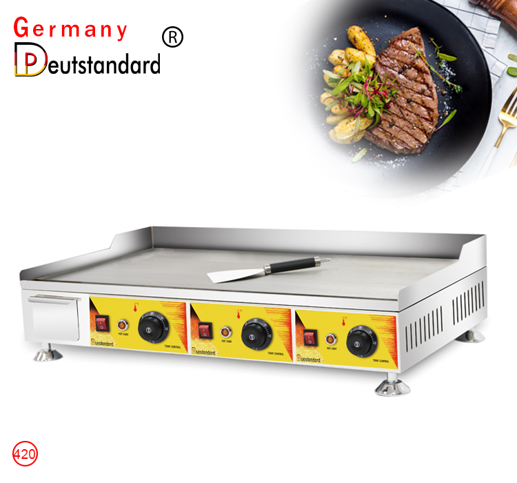 three hand griddle factory grill