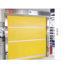 Interior Auto  PVC Rolling High Speed Door