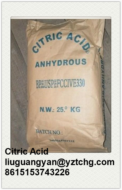 Factory sale sodium citrate citric acid monohydrate and anhydrous price