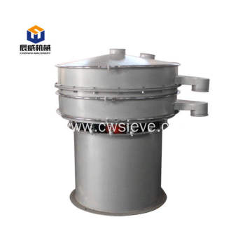 Fully enclosed vibrating sifter for wood chip