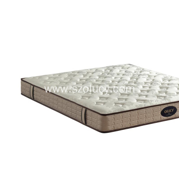 Spine protected bed mattress