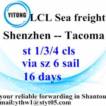 Shantou Shipping Services to Tacoma
