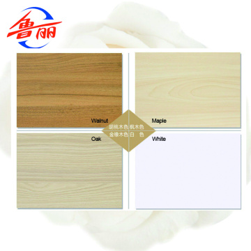 Melamine laminated particle board for kitchen