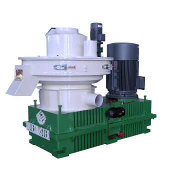 Low cost centrifugal pellet machine