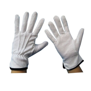 Anti Slip Parade Glove Dotted Palm Gloves