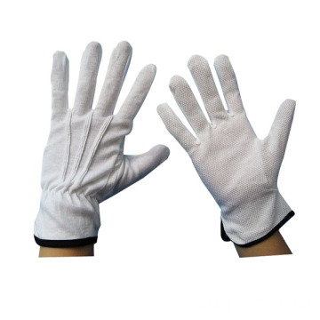 waiter marching inspection gloves