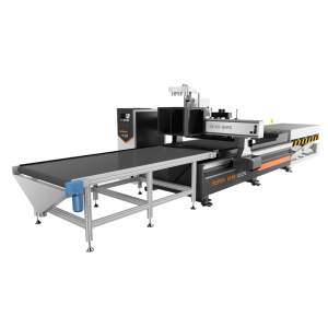 automatic loading panel working cnc router
