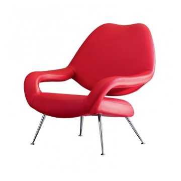 Factory source manufacturing for Supply Replica Lounge Chair,Replica Gubi Beetle Lounge Chair,Replica Plywood Lounge Chair to Your Requirements Modern classic lounge chair DU55 armchair supply to France Suppliers
