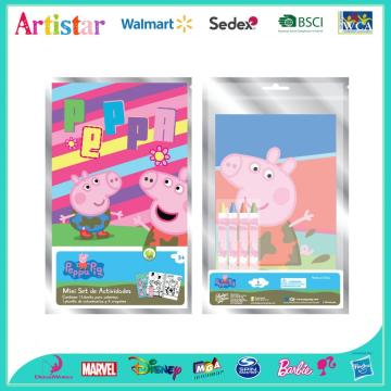 PEPPA PIG Colouring foil art set
