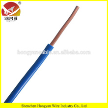 High quality PVC solid bare copper BV 2.5mm2 electrical cable for house wiring
