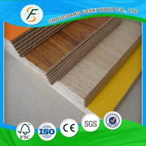 2-25mm Wenge Melamine Plywood Prices Hot Sale