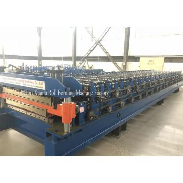Roofing Sheet Metal Double Deck Roll Forming Machine