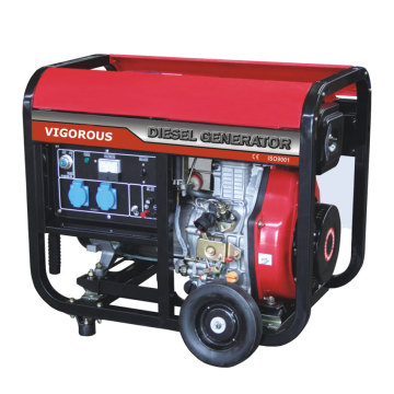Single Phase 5KW Diesel Generators For Sale