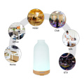 Glass Cap Wood Base 100ml Essential Oil Diffuser