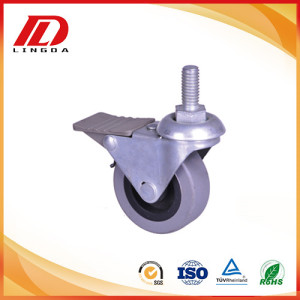 2 inch light duty thread stem casters